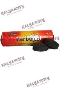 Уголь для кальяна Carbopol 35 мм.