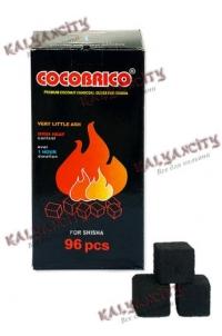 Уголь для кальяна Cocobrico 96 шт.