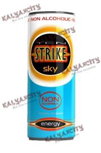 Энергетический напиток TenStrike «Sky» 0,25 л.