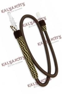 Шланг для кальяна Ager VIP (с ручкой) черный