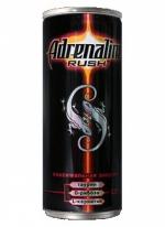 Энергетический напиток Adrenalin Rush 0,25 л.
