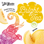 Бестабачная смесь Bright Tea Дыня 50гр
