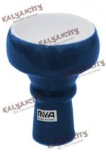 Чашка керамическая для кальяна MYA маленькая (внешняя) синяя
