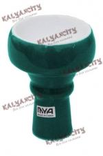Чашка керамическая для кальяна MYA маленькая (внешняя) зелёная