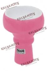 Чашка керамическая для кальяна MYA маленькая (внешняя) розовая
