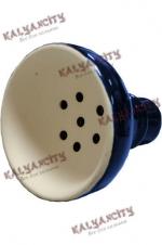 Чашка керамическая для кальяна MYA (внешняя) синяя