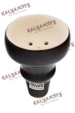Чашка керамическая для кальяна MYA (внутренняя) чёрная