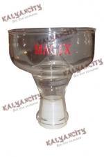 Чашка стеклянная для курительных камней MagiX (внешняя)