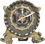 Часы ручной работы «Black&Bronze»