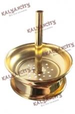 Сетка для чашки с ручкой (золотистая)