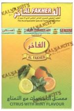 Табак для кальяна Al Fakher (Аль Факер) 50 гр. «Цитрус с мятой»