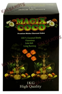 Уголь для кальяна MagiX Coco 24 шт.